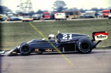 "WOLF WILLIAMS FW05/Hesketh 308C. Mario Andretti. Silverstone F1 1976 10x7"" photo"
